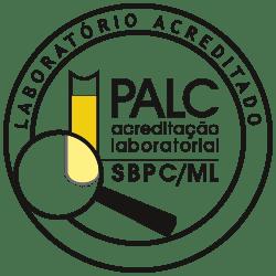 Selo PALC - acreditação laboratorial